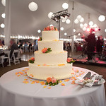 Your wedding cake should help accent your wedding's theme (and we can help!). Photo By Bellow Photography - The Casual Gourmet, Cape Cod Wedding Caterer