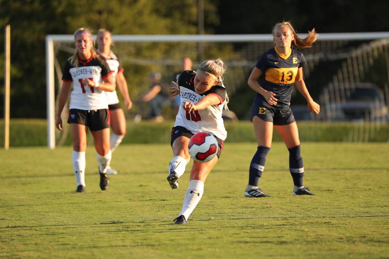 Gardner-Webb University Women's Soccer takes on ETSU in an early non-conference game at Greene-Harbison Stadium.