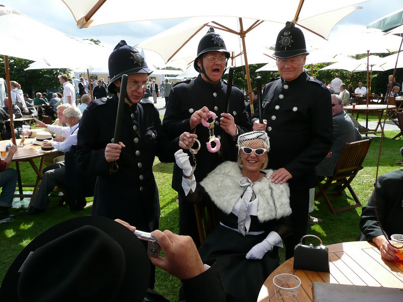 2007 Goodwood Revival, same 3 guys every year too!