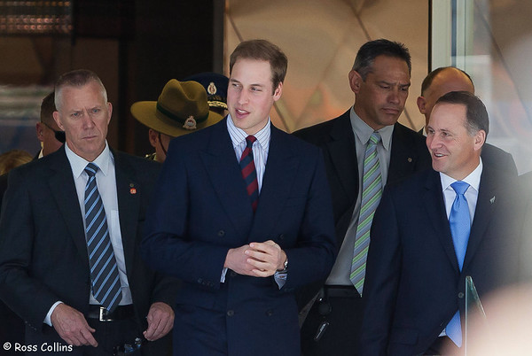 HRH Prince William  in Wellington 2010