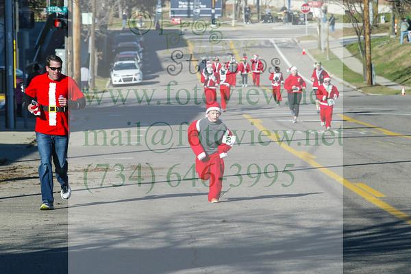 Flint Y Santa Run 5 Dec 2015