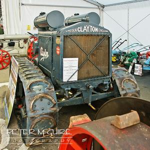 Clayton Crawler tractor