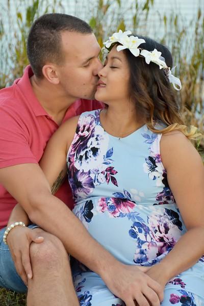 Beautiful pregnancy photo session
