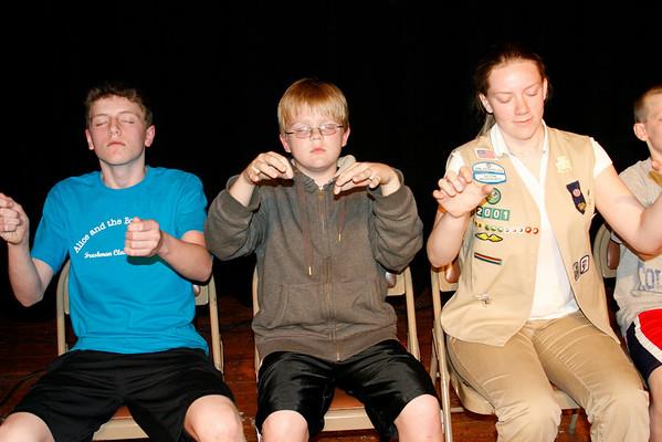 Acton Boxborough Girl Scouts... May 7, 2010