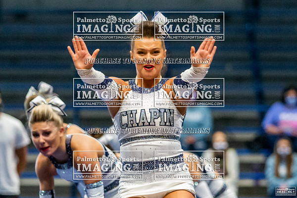 Chapin Varsity Cheer 5A Qualifier