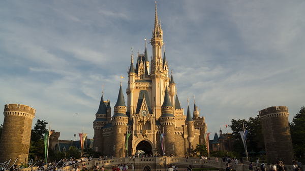 Tokyo Disney Resort, Tokyo Disneyland, Cinderella Castle, Cinderella, Castle