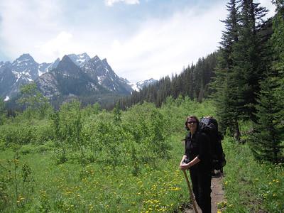 2009 - Backpacking Stuart Lake
