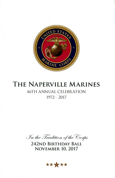 Marine Corps Ball - Naperville, Illinois - November 10, 2017