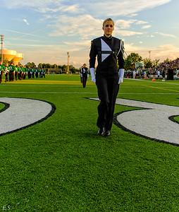 2012-08-31 - Marching Band - Centennial HS Football Game