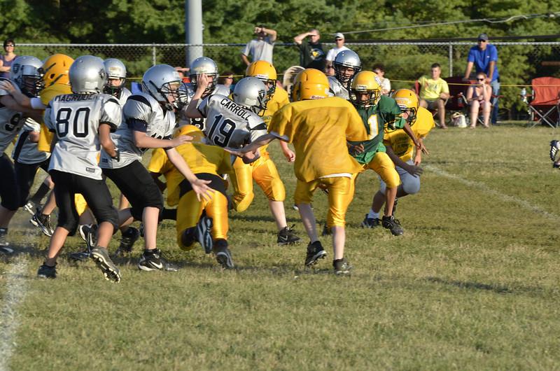 Wildcats vs Raiders Scrimmage 142.JPG