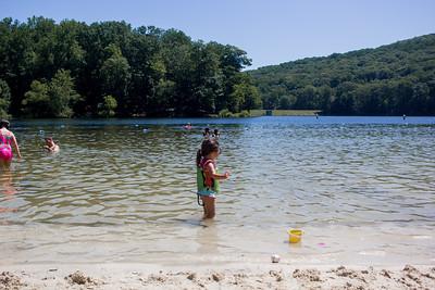 Cunningham Falls Lake Day