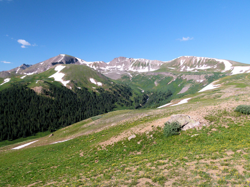 Scenery around Independence Pass