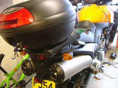 Vstrom or KLV1000 Tool Tube