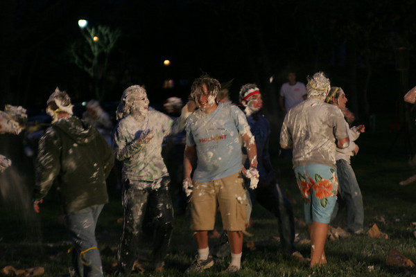 Shaving Cream War Night - Let the Games Begin!