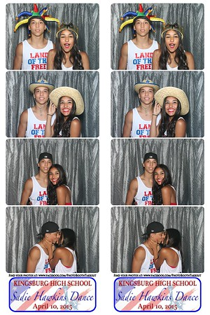 KHS 2015 Sadie Hawkins - The Photo Booth Strips