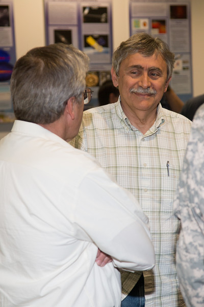"Tuck with Demos Kazanas -- Retirement party for Robin ""Tuck"" Stebbins, NASA/GSFC, May 20, 2016"