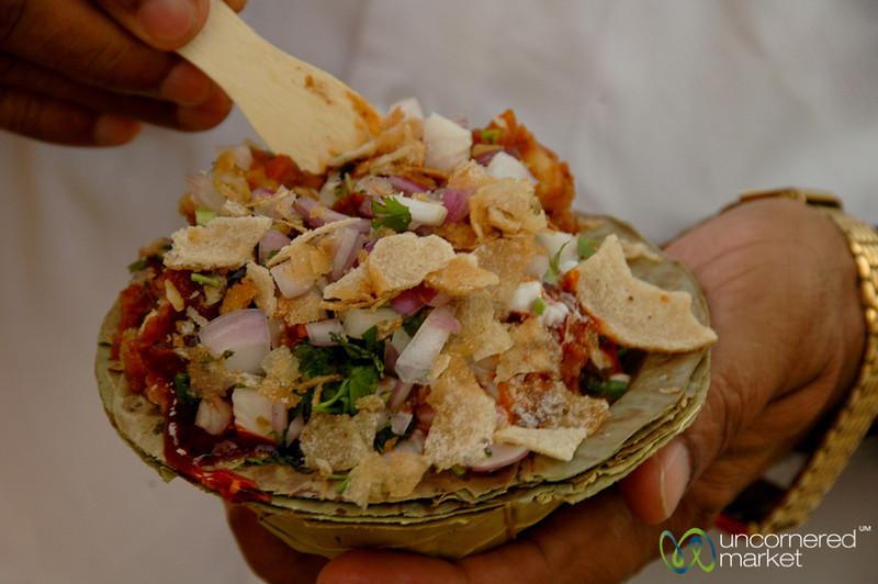 Pan Puri Snack - Varanasi, India