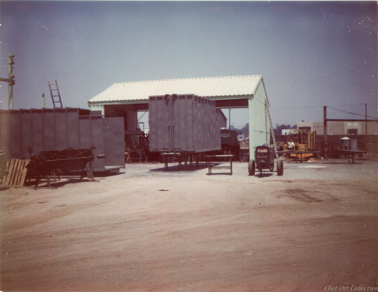 Construction of C&O's first two Front Loader