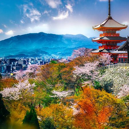Kannon Overlooking Kyoto