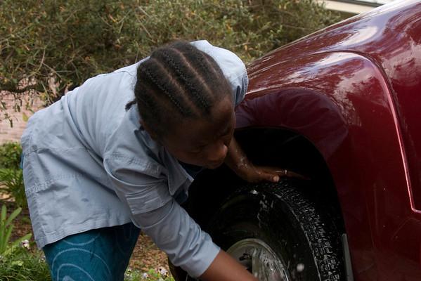 2009.03 Washing the Car