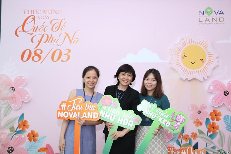 Novaland Group | Nguyen Du Office International Women's Day instant print photo booth in Ho Chi Minh City | Chụp hình lấy liền Sự kiện 8/3 | Photobooth Saigon