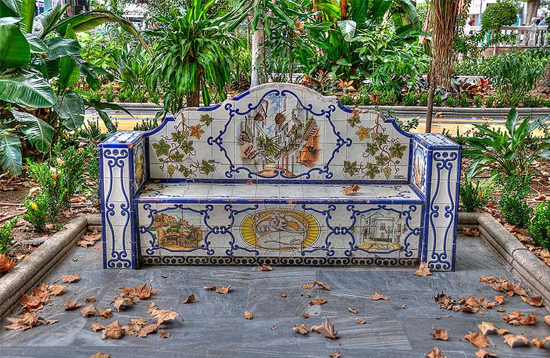 Tile Bench