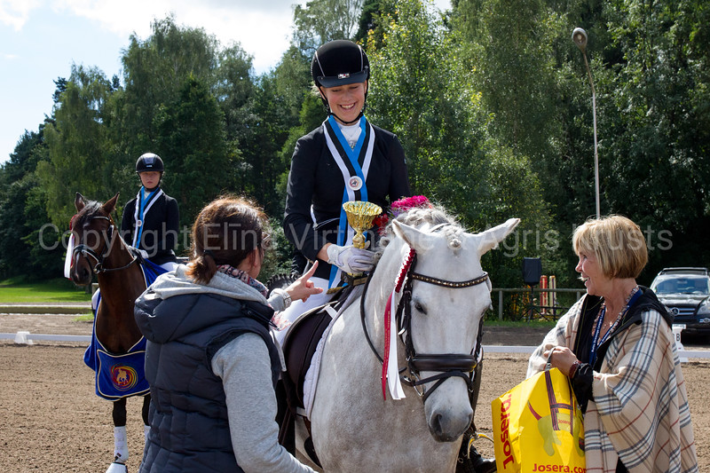 Baltic Dressage League 2016, Kleisti