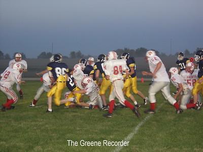 Freshman Football vs St Ansgar