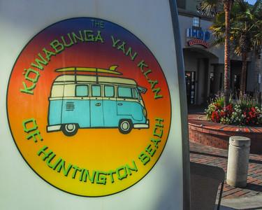 Cowabunga Van Klan:  H. B. Calif.  International Surfing Museum 09-15-2018