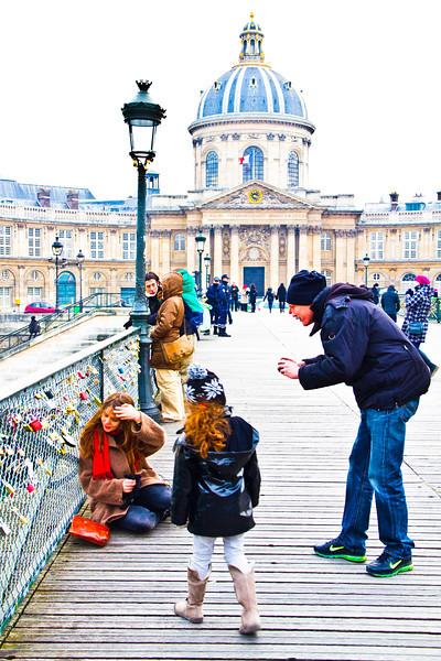 The Pont des Arts, Paris