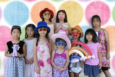 Emi's 6th Birthday (Green Screen Party Portraits)