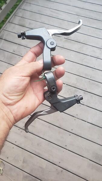 XTR M950 brake levers