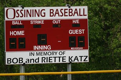 Baseball Scoreboard Dedication