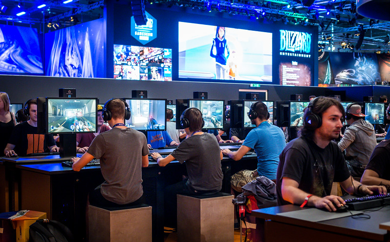 Overwatch at Gamescom 2015