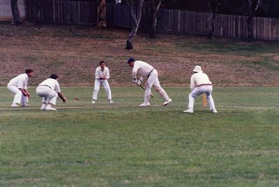 1986/87 1st  XI Semi-Final