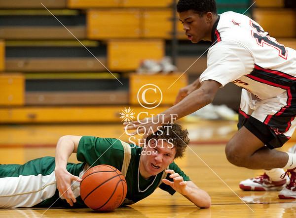 2010-01-15 Basketball Boys Varsity Greenhill at SJS