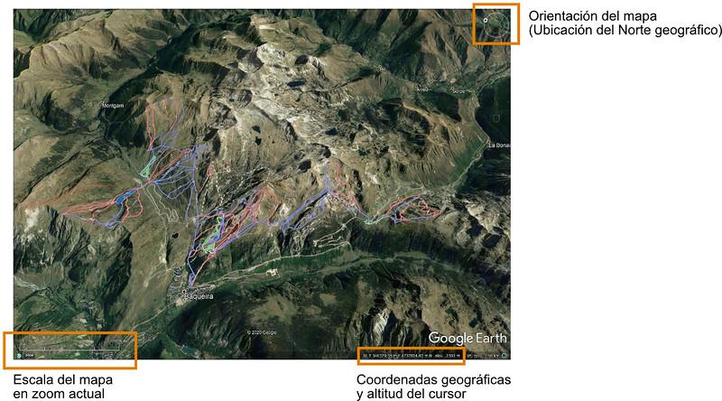 Ejemplo con mapa Google Earth