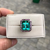 11.77ct Tourmaline Halo Ring by Leon Mege, AGL Cert 21