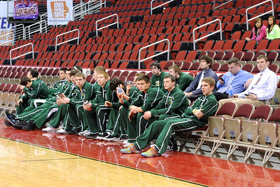 Boys Varsity Basketball @ Wells Fargo 2011-2012