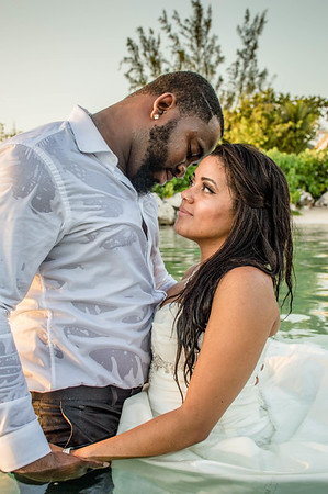 Patrice & Dwayne ~ Trash the Dress Session