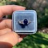 2.08ctw Sapphire and Diamond Ring, GIA No-Heat 20