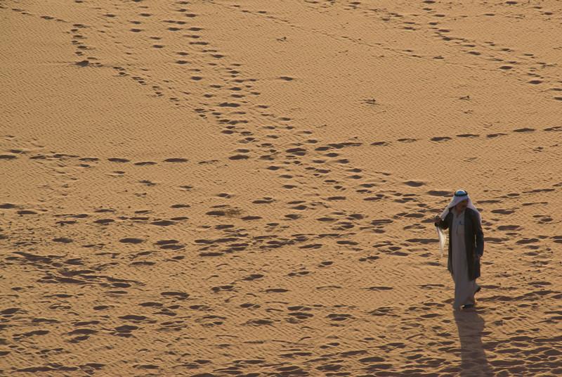 Ali at Sunset - Wadi Rum, Jordan