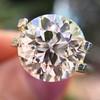 3.86ct Old European Cut Diamond GIA K VS2 17
