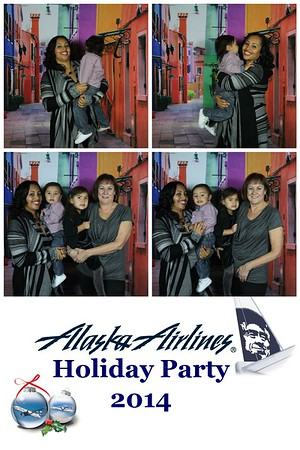 Alaska Airline's Holiday Party
