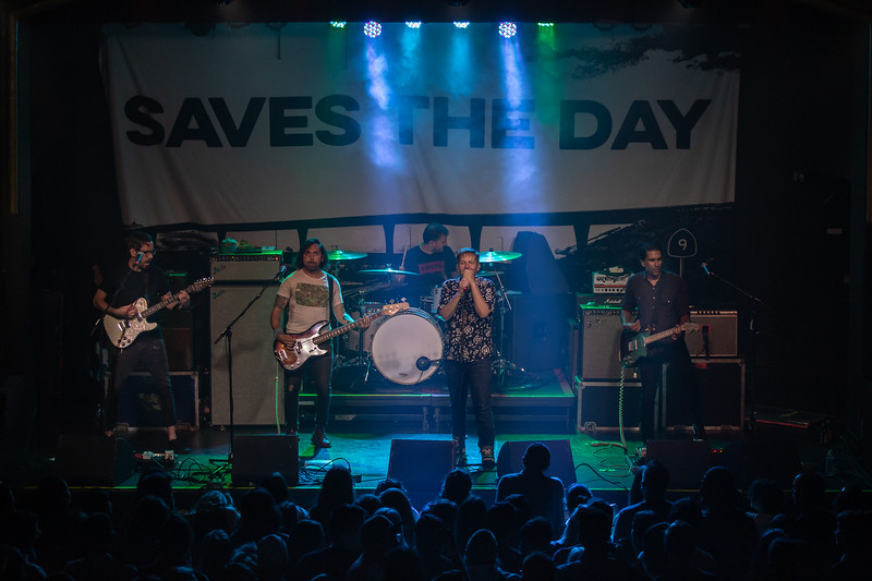 2019 Aug 6 - Saves The Day, Saint Andrews Hall, Detroit
