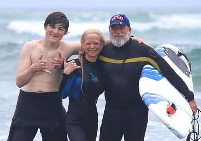 2015 06 13 Dina & Jordan - San Diego Surfing Academy LLC