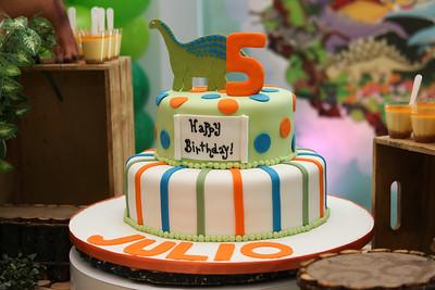 Julio's 5th birthday