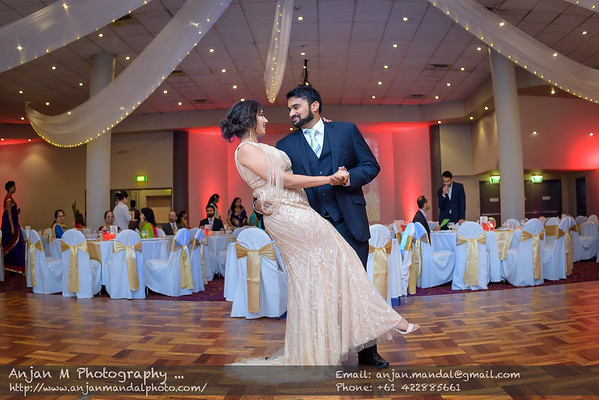 Punchbown Club Wedding Reception - Pranjali and Aditya