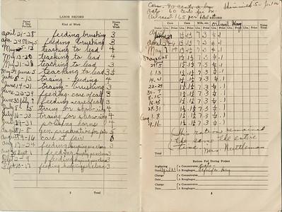 1941, Ervin Jr. 4H Handbook