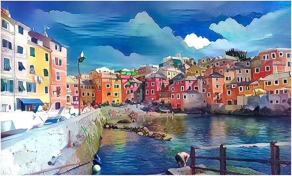Genova, Boccadasse, Pegli Fantasy